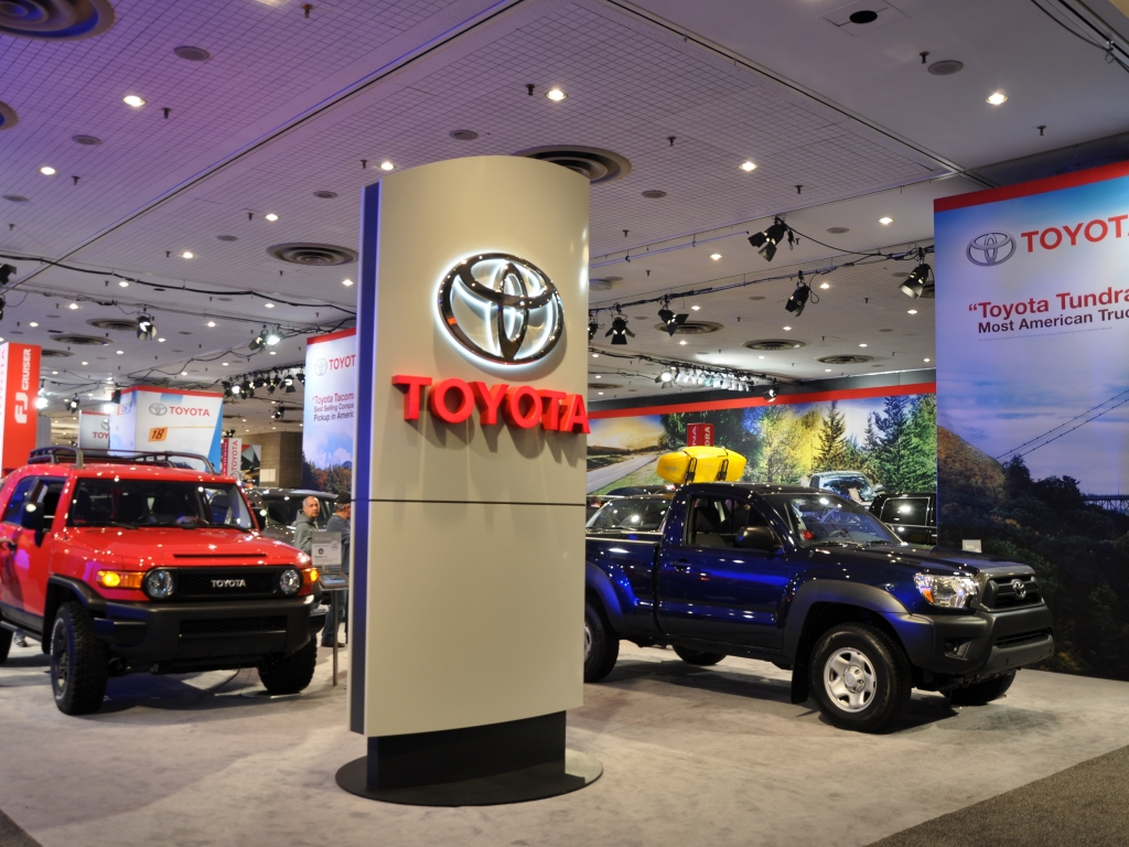 Top 100 Famous Global Brands - P7 Toyota  - Worldkings