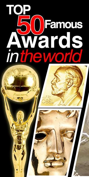 Top 50 Famous Awards In The World