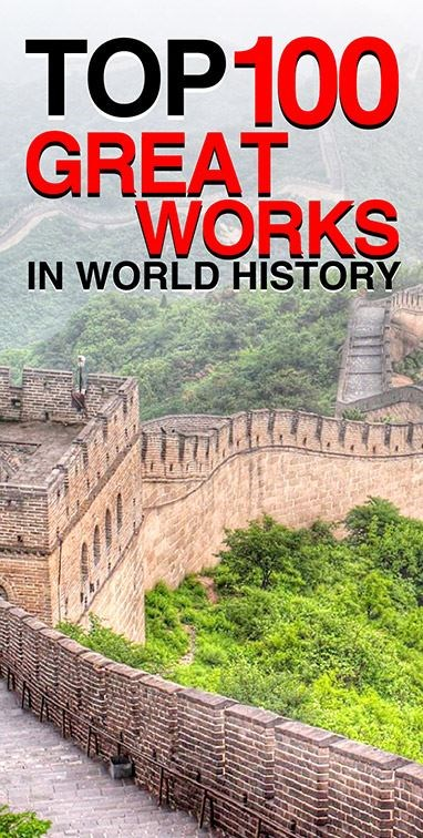 Top 100 Great Works In World History