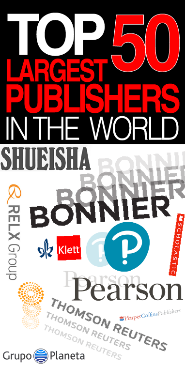 Top 50 Largest Publishers