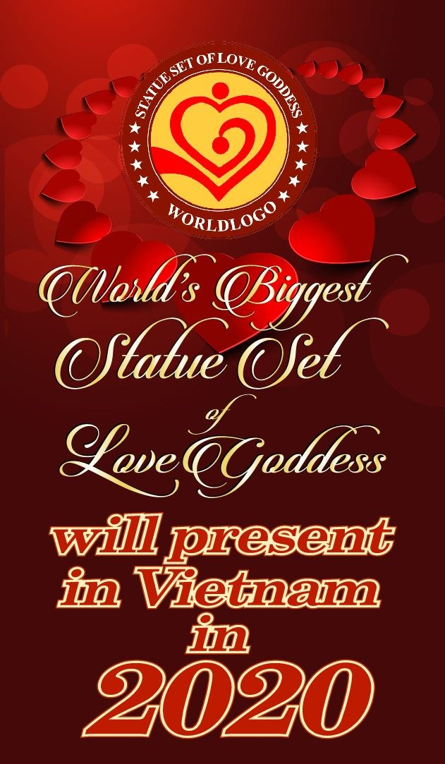 World's Biggest Statue Set of Love Goddess