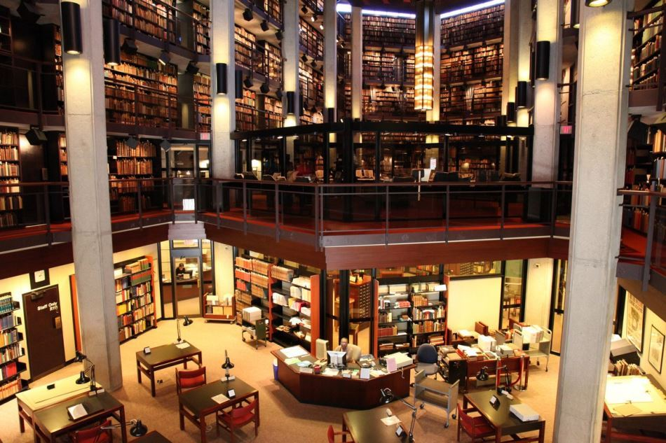 Top 100 Largest Libraries In The World - P1.Macquarie